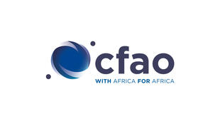 Le logo du groupe CFAO.