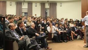 Conferência da Brasa na Universidade de Chicago.