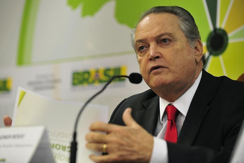 O ministro da Agricultura, Pecuária e Abastecimento do Brasil, Wagner Rossi.