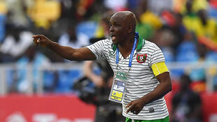 Baciro Candé, seleccionador da Guiné-Bissau.