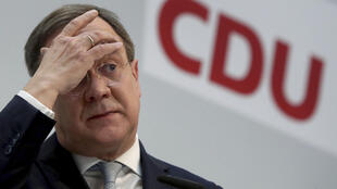 Armin Laschet was chosen as leader of the CDU in January.