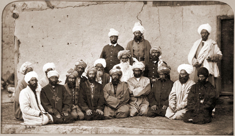 Sirdar_Habibullah_Gilzai_and_other_Khans_in_1879-80