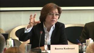 باسما کودمانی، عضو گروه نمایندگان مخالفان رژیم بشار اسد در گفتگوهای صلح در ژنو
