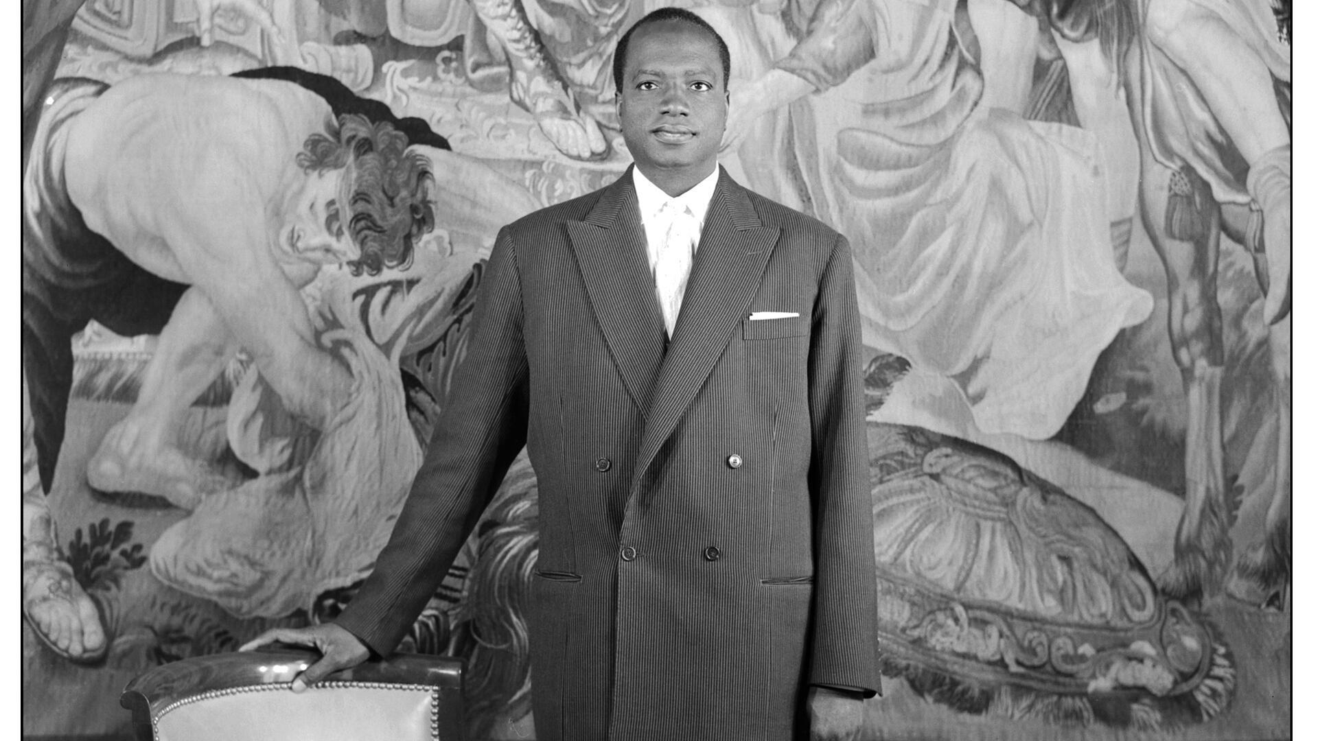 Modibo Keita, président du Mali, le 19 novembre 1968.