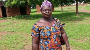 Henriette Sawadogo, animatrice de la Fédération Nationale des Groupements Naam.