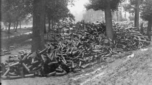Lors de la guerre de 1914-1918, un obus sur quatre n'a pas explosé.