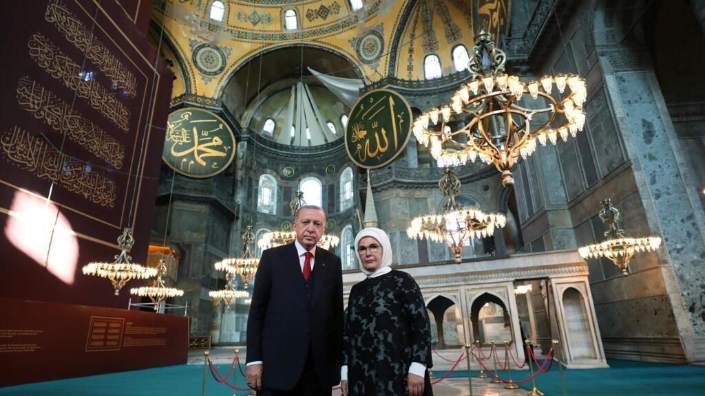 Conversion de Sainte-Sophie en mosquée: Erdogan dénonce les critiques de la Grèce
