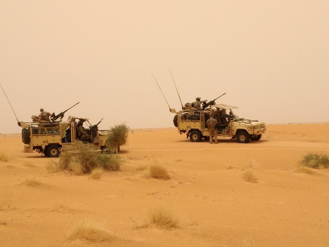 法国在马里反恐军队2020年6月发动清剿袭击行动。
