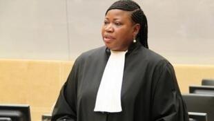 Mwendesha mashtaka mkuu wa mahakama ya ICC Fatou Bensouda,