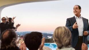 Кадр из фильма «Лоро» о Сильвио Берлускони