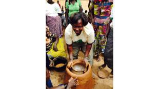 Antoni au Burkina Faso.