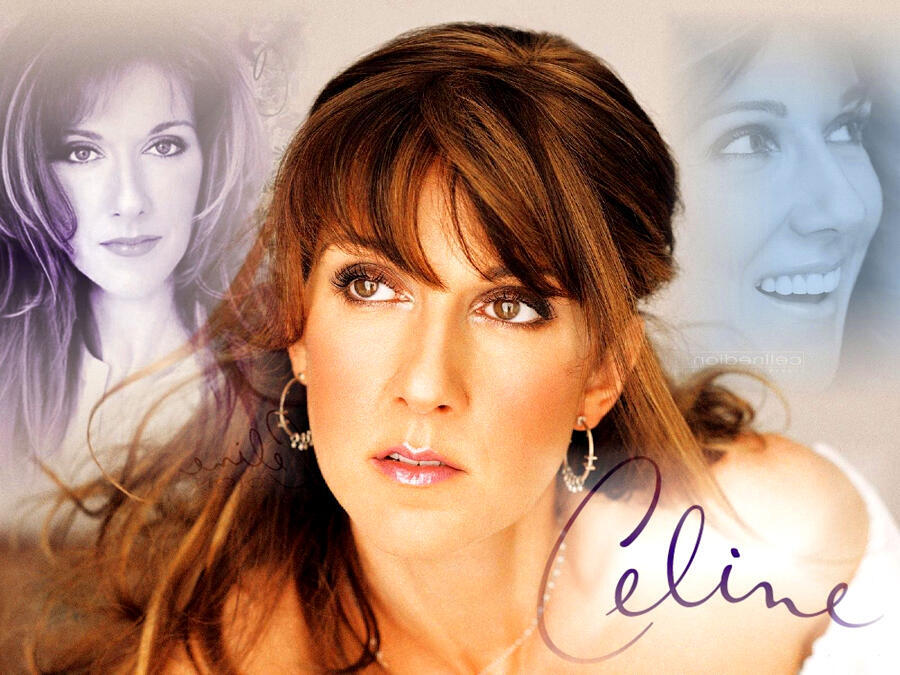 Nữ ca sĩ Celine Dion.