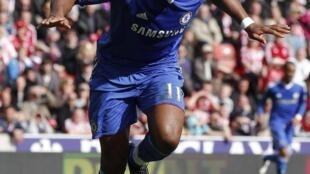 L'Ivoirien Didier Drogba.