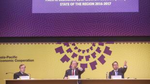 Trabajos previos a la Cumbre de la APEC de Lima, noviembre 2016