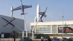 Le musée de l'Air et de l'Espace.