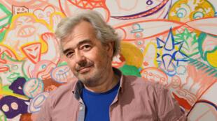 Portrait du peintre Hervé Di Rosa.