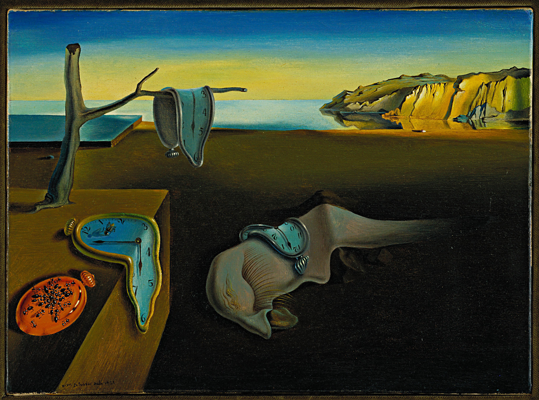 """La persistencia de la memoria"", 1931. Museum of Modern Art (MoMA), New York, USA"