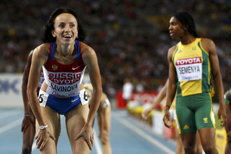 Мария Савинова, золотая медаль, 4 сентября 2011, Тэгу
