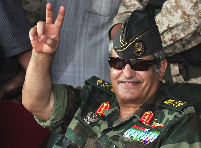 Начальник генерального штаба повстанцев генерал Абдель Фаттах Юнес