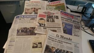 Diários franceses 12.07.2016