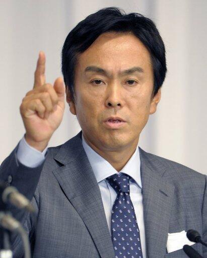Tổng thư ký đảng Tự do Dân chủ Nhật Bản, Nobuteru Ishihara. Ảnh chụp năm 2008.