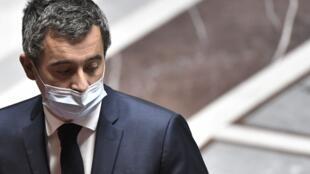 Ảnh minh họa: Bộ trưởng Nội Vụ Pháp trước Quốc Hội ngày 03/11/2020.