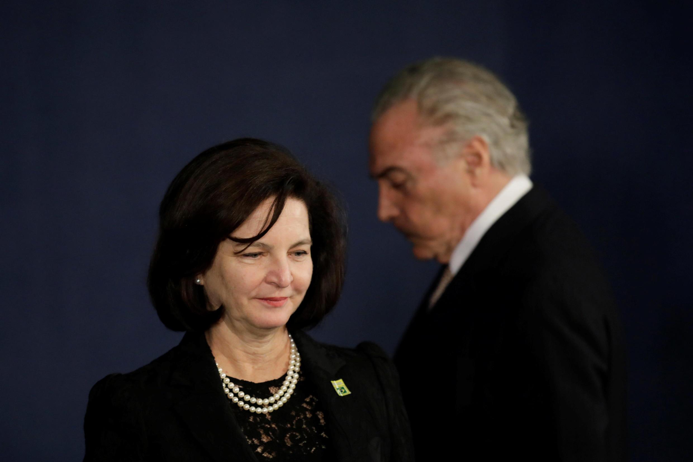 A procuradora-geral da República, Raquel Dodge, participou do Brazil Conference, em Boston.