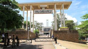 Le Parlement ougandais.