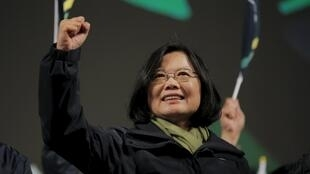 La nueva presidenta electa de Taiwán, Tsai Ing-wen.