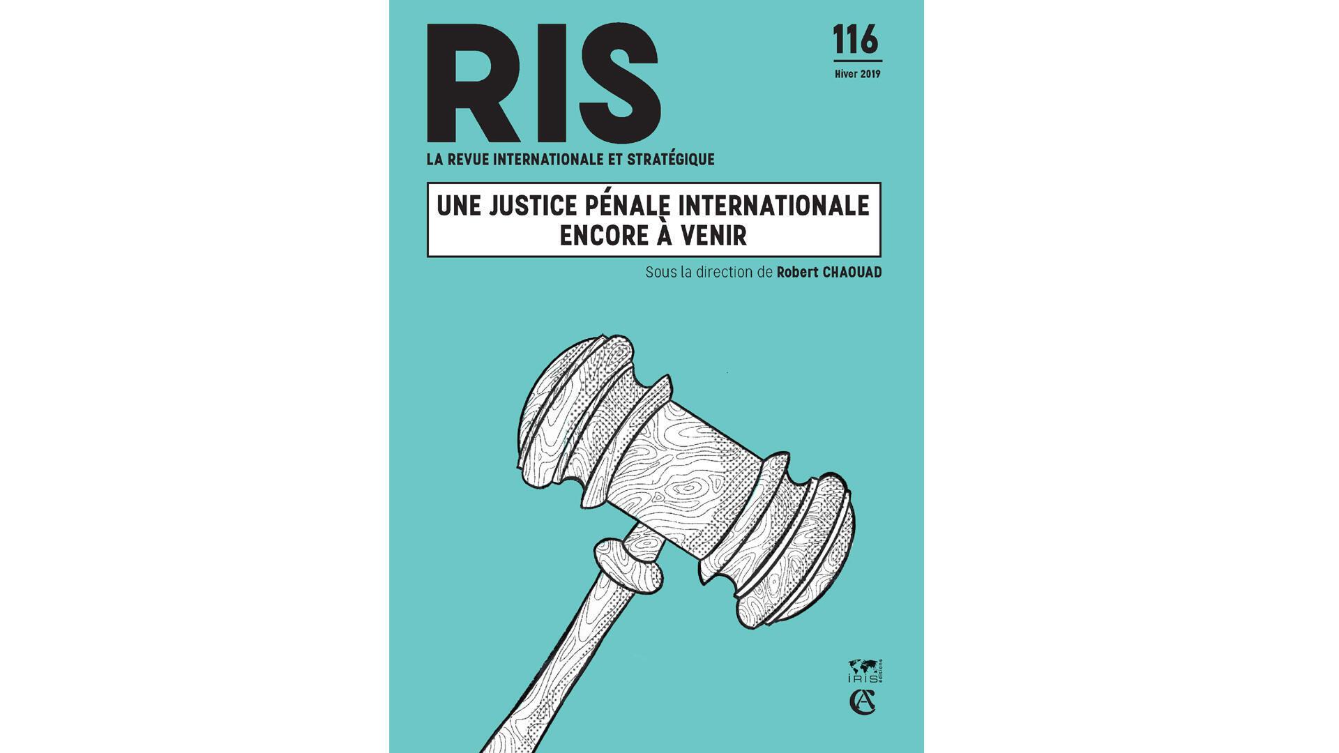 Couverture de la Revue Internationale et Stratégique N°116, Hiver 2019.