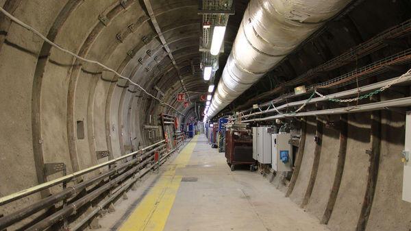 位於法國東部布爾鎮修建中的核廢料填埋中心。
