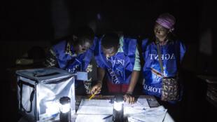 Contagem de votos em Goma 30/12/2018