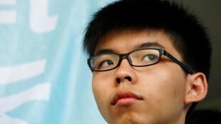 Lãnh tụ phong trào sinh viên học sinh đòi dân chủ Hồng Kông Hoàng Chi Phong (Joshua Wong).