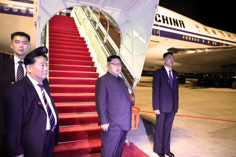 2018年6月12日,乘坐中國國際航空公司班機抵達新加坡的朝鮮領導人金正恩再次乘坐國航飛機返回朝鮮。