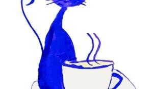 Um salão de chá na companhia de gatos abriu em Paris.