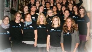 Des étudiants du programme européen erasmus, à Vienne, en Autriche.