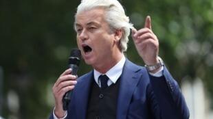 O líder da extrema-direita holandesa, Geert Wilders.