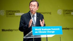 Le secrétaire général des Nations unies Ban Ki-moon a ouvert ce dimanche à Copenhague une conférence internationale sur le rôle crucial des entreprises dans la lutte contre le réchauffement climatique.