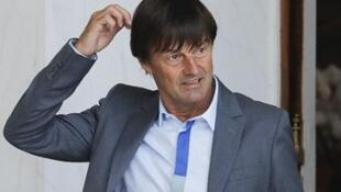 French Environment Minister Nicolas Hulot s
