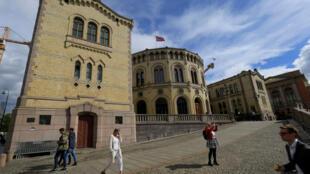 Парламент Норвегии в Осло