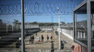 Dans le centre de rétention administrative de Vincennes, à l'est de Paris, le 18 septembre 2019.