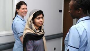 Malala Yousufzai leaves hospital in Birminghma, UK