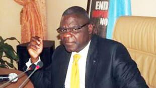 Luzolo Bambi Lessa, ministre de la Justice et des Droits Humains de la RDC.