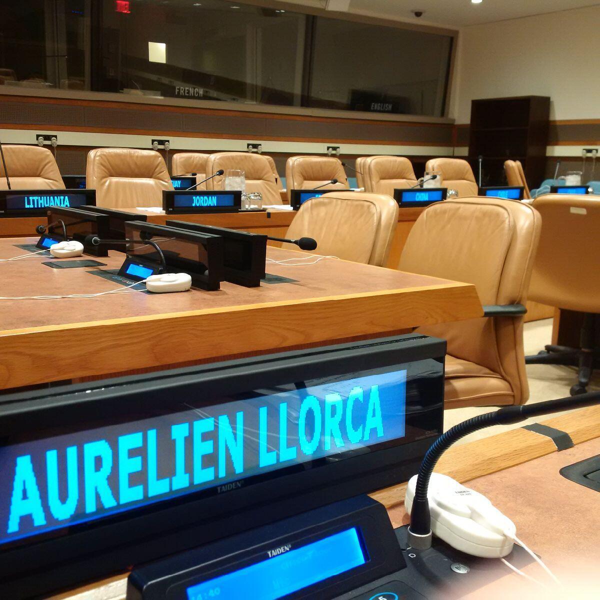 Aurélien Llorca est le coordinateur du groupe des experts de l'ONU sur la Centrafrique.