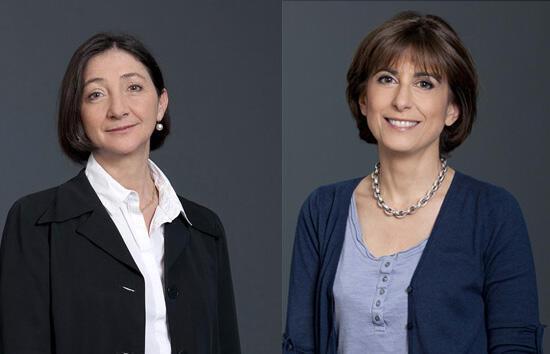 Anne-Marie Capomaccio et Nahida Nakad