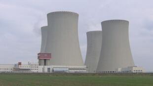 La centrale nucléaire de Temelin.