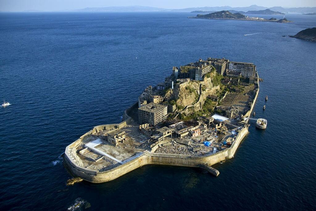 Đảo Hashima nằm trong số 23 cơ sở công nghiệp được xếp vào hàng Di sản Thế giới - DR