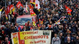 La CGT a prévu plus de 130 manifestations a travers la France pour sa journée de mobilisation interprofessionnelle.