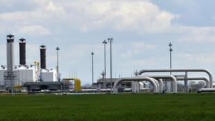 俄羅斯向烏克蘭輸送天然氣的管道