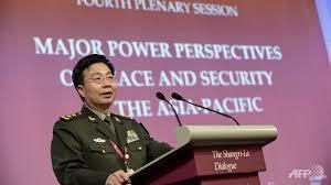 Trưởng đoàn Trung Quốc tại Đối thoại Shangri-La, tướng Vương Quán Trung (Wang Guanzhong).